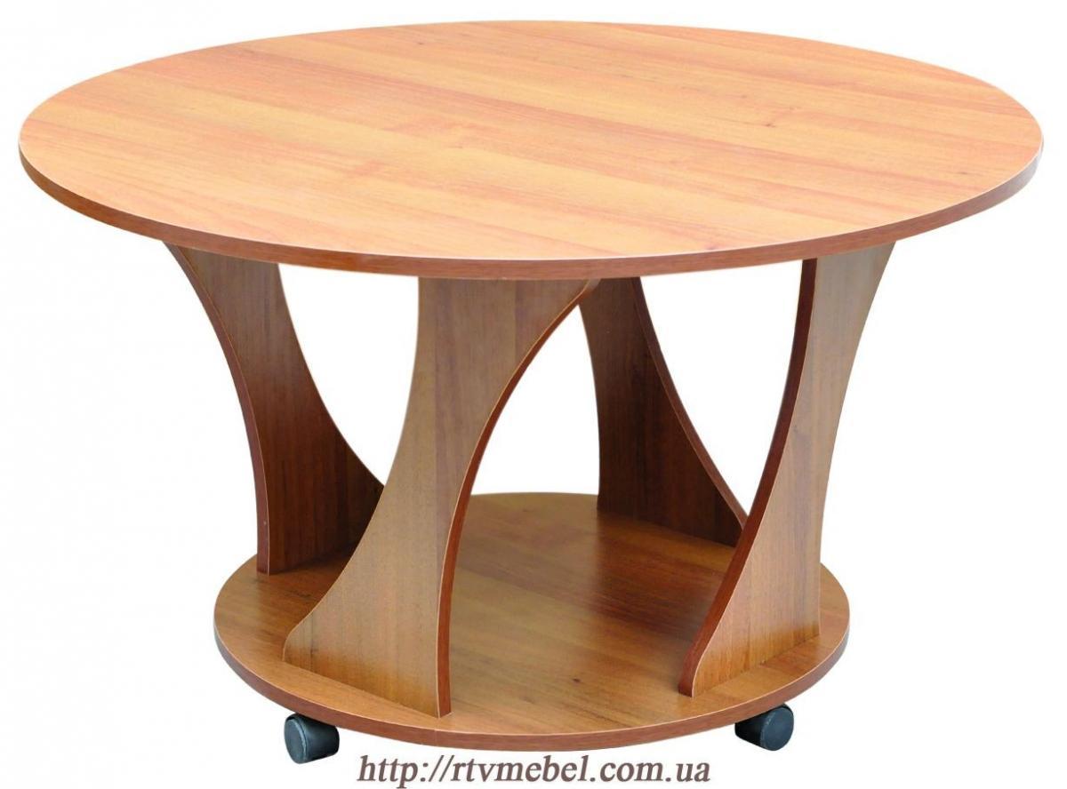 Круглый стол на колесиках своими руками 61